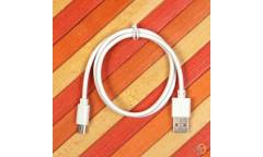 Кабель USB дата micro 60 см, арт.009488 (Белый)