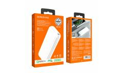 Внешний аккумулятор Borofone BJ1A PD + QC3,0 Olymp power bank 20000 mAh White