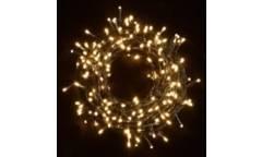 Гирлянда _WLZ _F№14 _100M LED _WW _(7.3м, 82 лампы) _белый теплый цвет