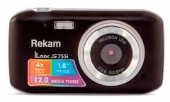 Цифровой фотоаппарат Rekam iLook S755i черный