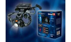 Фонарь Uniel P-HL082-CB Black offroad  пластик 3.6V 1800mAH Ni-MH в/к черный