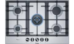Газовая варочная поверхность Bosch PCQ7A5B90 нержавеющая сталь