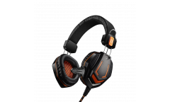 Гарнитура CANYON Gaming headset 3.5mm jack with microphone and volume control, cable 2M, Black