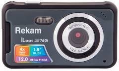 Цифровой фотоаппарат Rekam iLook S760i темно-серый