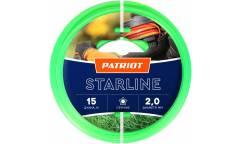 Леска для садовых триммеров Patriot Starline d=2.0мм L=15м (805201056)