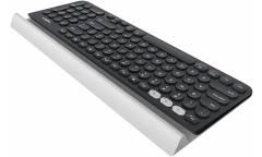 Клавиатура Logitech K780 черный/белый USB беспроводная BT