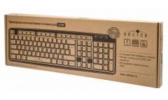 Клавиатура Oklick 130M черный USB