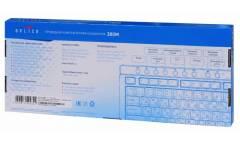 Клавиатура Oklick 380M черный/серебристый USB Multimedia