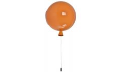 Люстра-Бра_DE FRAN_SP1-2083-1OR _E27 _1*20Вт _+ выключатель,  оранжевый акрил d25*h28см