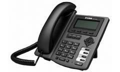 IP - телефон D-Link DPH-150S/F5A IP-телефон с 2-мя портами LAN и поддержкой до двух независимых SIP
