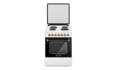 Плита электрическая Lofratelli OEE 6004 OW белая, верх/низ электрич,58л,гриль,подсветка