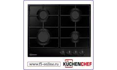 Газовая варочная поверхность Kuchenchef KHG611AIS черный
