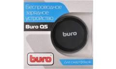 Беспроводное зарядное устройство Buro Q5 1A универсальное кабель microUSB черный