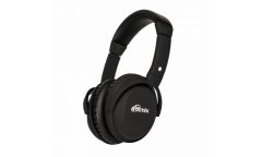 Наушники беспроводные (Bluetooth) Ritmix RH-499BTH накладные c микрофоном черные
