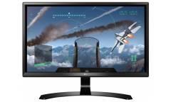 "Монитор LG 23.8"" 24UD58-B черный IPS LED 16:9 HDMI матовая 250cd 178гр/178гр 3840x2160 DisplayPort U"
