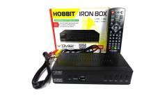 Тюнер T2 DiViSat Hobbit Iron Box черный