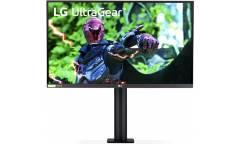"""Монитор LG 27"""" Gaming 27GN880-B черный IPS LED 16:9 HDMI DisplayPort Mat HAS Pivot (плохая упаковка)"""