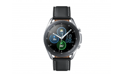 "Смарт-часы Samsung Galaxy Watch 3 45мм 1.34"" Super AMOLED серебристый (SM-R840NZSACIS)"