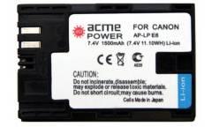 Аккумулятор для зеркальных камер AcmePower AP-LP-E6 для: Canon EOS 5D MarkII/5D MarkIII/60D/60Da/7D