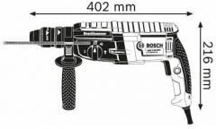 Перфоратор Bosch GBH 2-28 F патрон:SDS-plus уд.:3.2Дж 880Вт (кейс в комплекте)