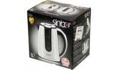 Чайник электрический Sinbo SK 7323 1.7л. 2200Вт белый/черный (корпус: пластик)