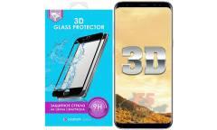 Защитное стекло 3D Krutoff Group для Samsung Galaxy S8+ silver