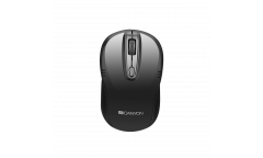mouse CANYON 2.4GHz wireless mouse with 4 buttons, optical tracking - red LED