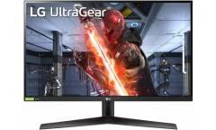 "Монитор LG 27"" UltraGear 27GN800-B черный IPS LED 16:9 HDMI матовая 350cd 178гр/178гр 2560x1440 DisplayPort WQHD 6кг"