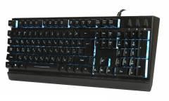 Клавиатура Smartbuy Rush 601 USB черная  игровая с подсветкой