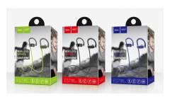 Наушники беспроводные (Bluetooth) Hoco ES7 (серые)