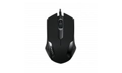mouse CANYON Optical wired mice, 3 buttons, DPI 1000, Black
