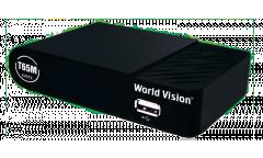 Тюнер T2 World Vision T65M (YouTube, Megogo, IPTV) черный