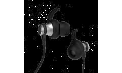 Наушники беспроводные (Bluetooth) Ritmix RH-428BTH внутриканальные c микрофоном черные