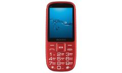 Мобильный телефон Maxvi B9 red