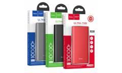 Внешний аккумулятор Hoco J68 Resourceful digital display power bank 10000 mAh Red