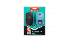 mouse CANYON Wireless со съемной панелью: Свинка-воин