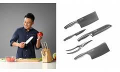 Набор кухонных ножей Xiaomi Huo Hou Six Piece Steel Knife (HU0014)