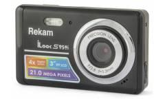 Цифровой фотоаппарат Rekam iLook S959i темно-серый