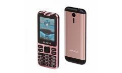 Мобильный телефон Maxvi X11 rose gold