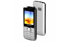 Мобильный телефон Maxvi K11 silver