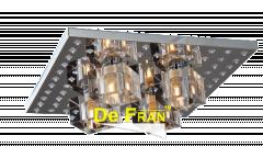 Люстра-Панель_DE FRAN_YL-X12301-4ACH пульт, LED 72_4*G9 _40Вт Абажур,  хром 330*105mm