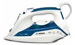 Утюг Bosch TDA5028010 2800Вт белый/синий керамика сeranium glissee
