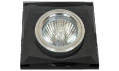Светильник точечный_DE FRAN_ FT 848-2 MR16 черное стекло