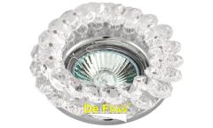 Светильник точечный_DE FRAN_ FT 860 MR16 хром+прозрачный