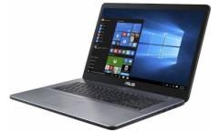 """Ноутбук Asus VivoBook X705MB-BX010T Pen N5000/4Gb/1Tb/Mx110 2Gb/17.3""""/HD+/W10/grey"""