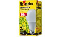 Лампа светодиодная для растений _Navigator LED A60_10W _E27 (61202)