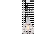 Люстра-Подвес_DE FRAN_ SP1-1710-1W _E27 _1*60Вт _металл белый, d14*h19 см