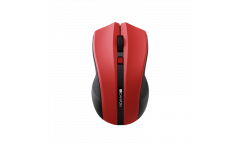 mouse CANYON 2.4GHz wireless Optical Mouse with 4 buttons, DPI 800/1200/1600, Red
