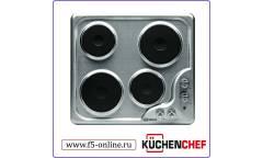 Варочная поверхность Kuchenchef KHE610X нержавеющая сталь