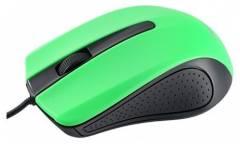 "Компьютерная мышь Perfeo ""RAINBOW"", 3 кн, USB, чёрно-зеленая"